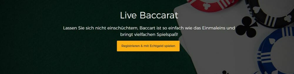 Mr Green Live Baccarat