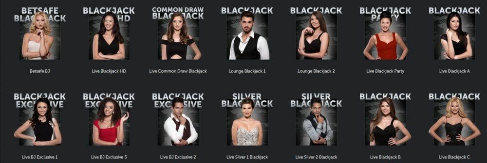 Live Blackjack Vorschau