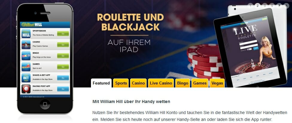 Iphone und Ipad Live Casino