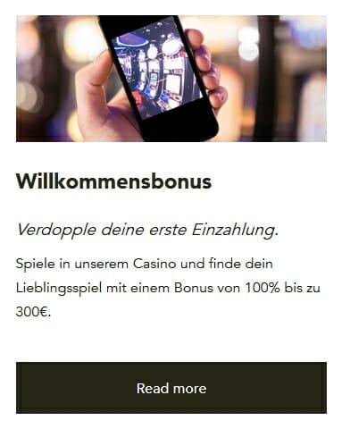 Codeta Casino Willkommensbonus