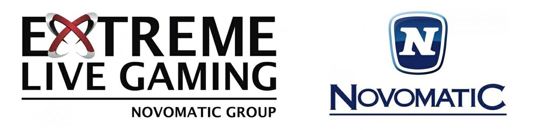 Extreme Live Gaming Novomatic Logo