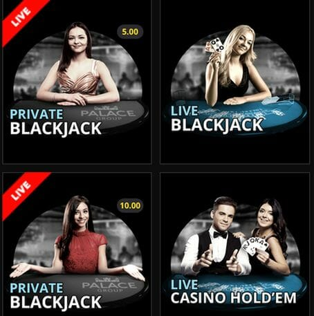 Jackpot City Casino Live Spiele