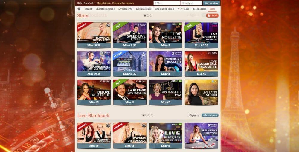 leo vegas bonus live casino