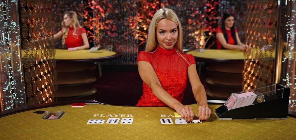 Live Baccarat im Online Casino