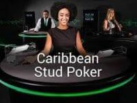 Live Caribbean Stud Poker Logo