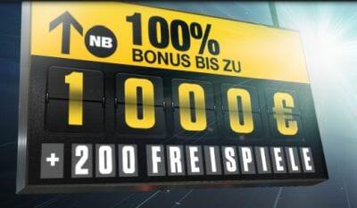 NetBet Bonus Angebot