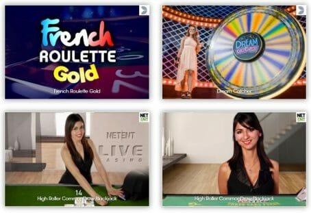 Sloty Casino Spielangebot