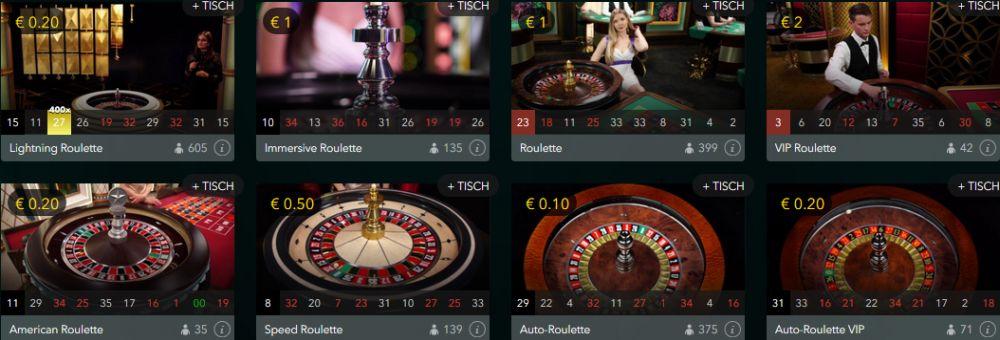 VoodooDreams Live Casino Vorschau