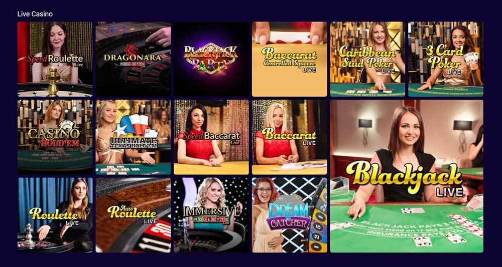 Party Casino Spiele