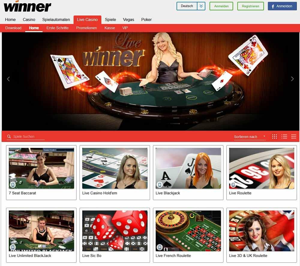 Winner Casino Vorschau