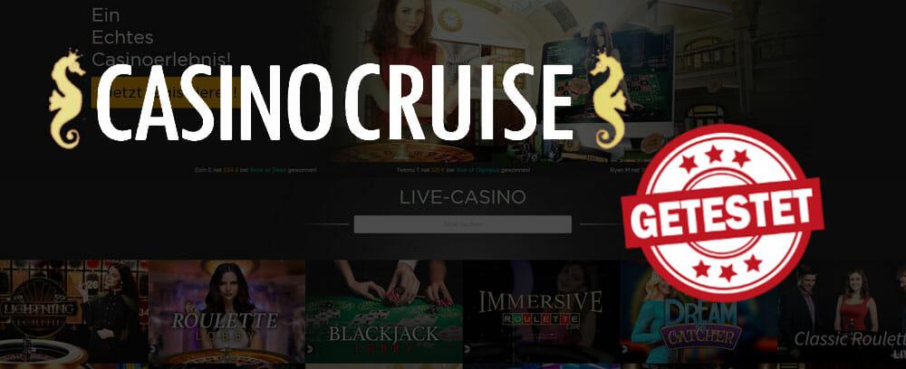 Casino Cruise Livecasino Titelbild