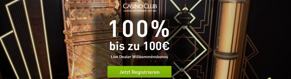 CasinoClub Livebonus 2020