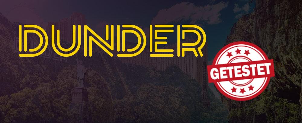 Dunder Livecasino Titelbild