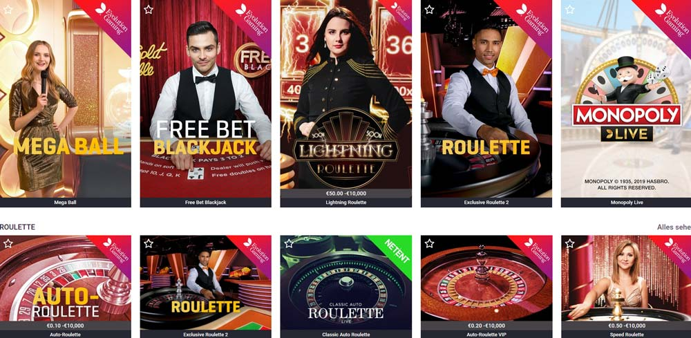 Guts Live Casino