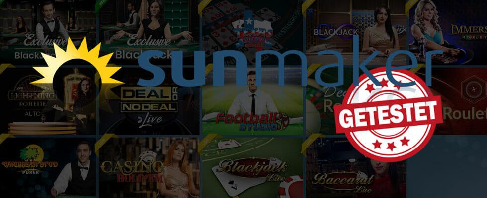 Sunmaker Live Casino Titelbild