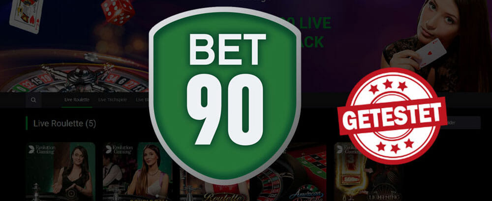 bet90 Live Casino Titelbild