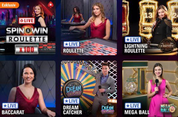 Pokerstars Live Spiele