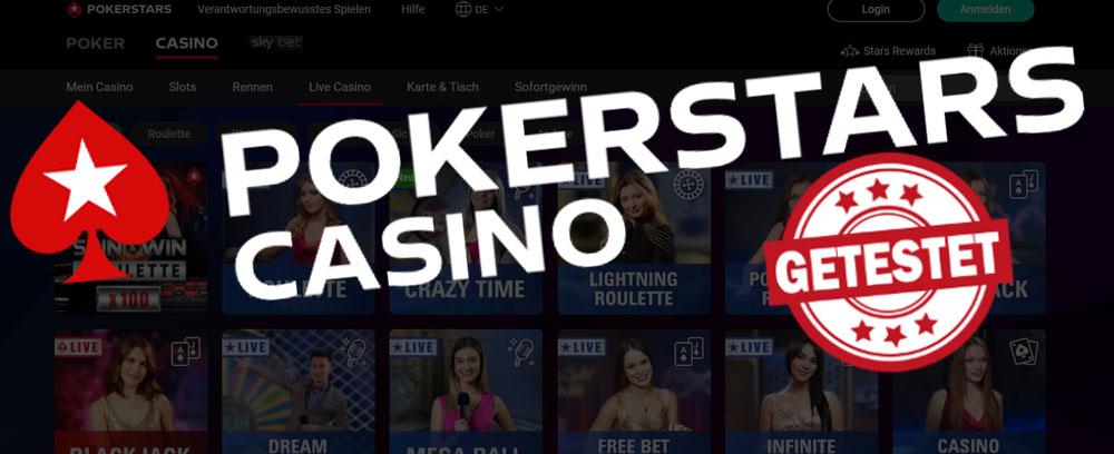 PokerStars Live Casino Titelbild