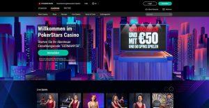 PokerStars Vorschau Startseite